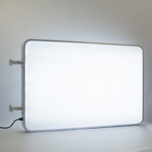 Rectangle LED light box