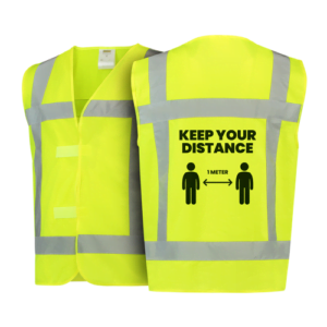 "Safety vest ""Keep your distance"""