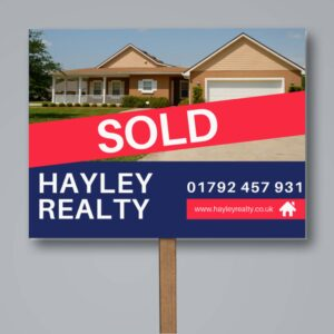 Estate Agents Sign Boards