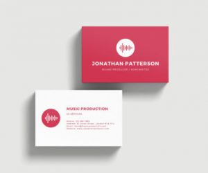 Business_Card - Soft Touch B