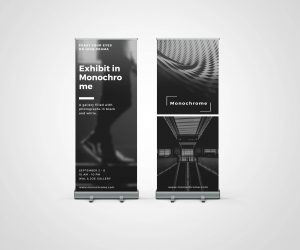 Roller Banner - Double Sided A